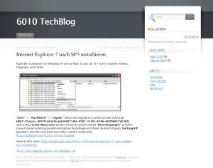 6010 TechBlog